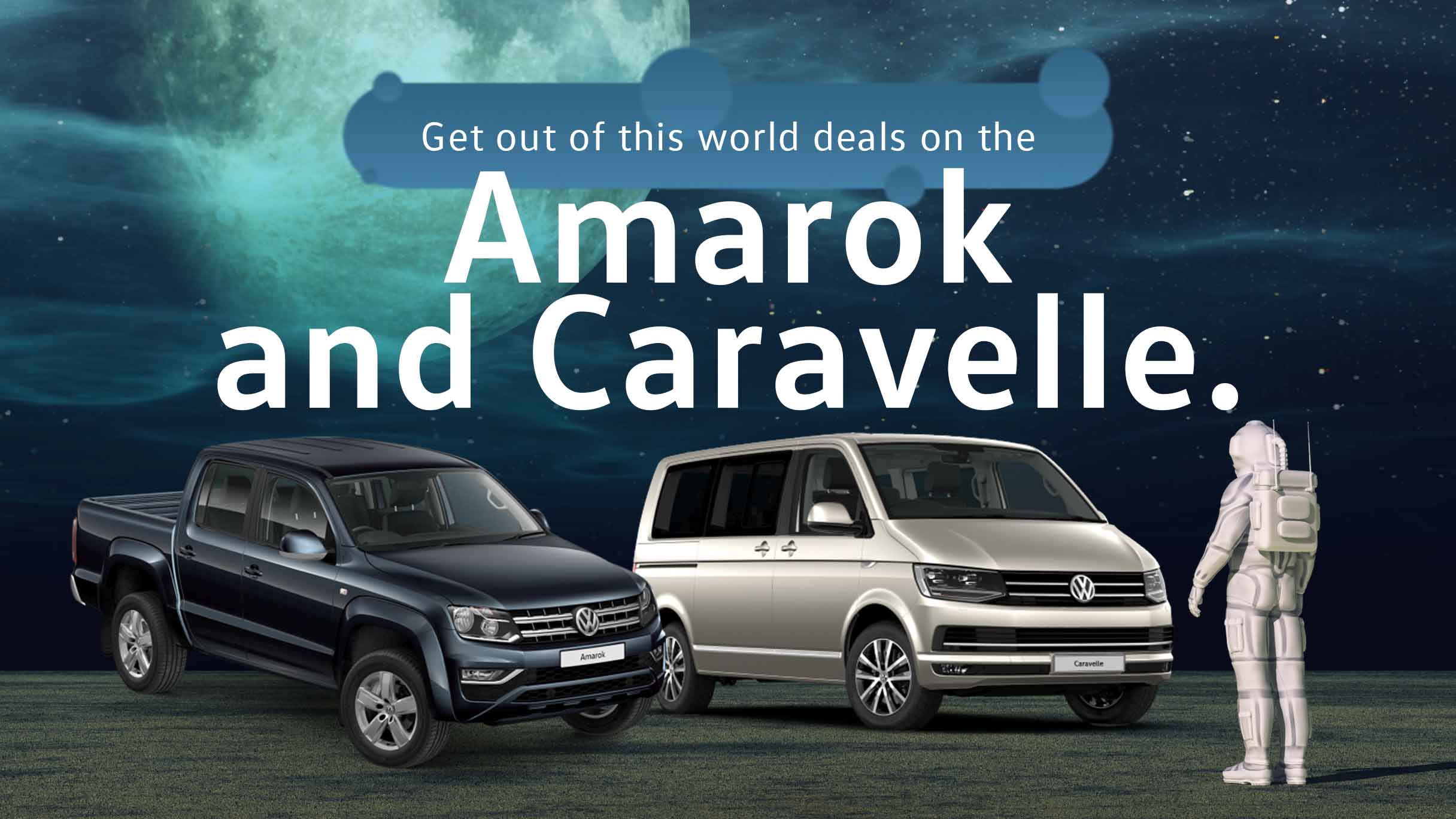Amarok and Caravelle Specials banner