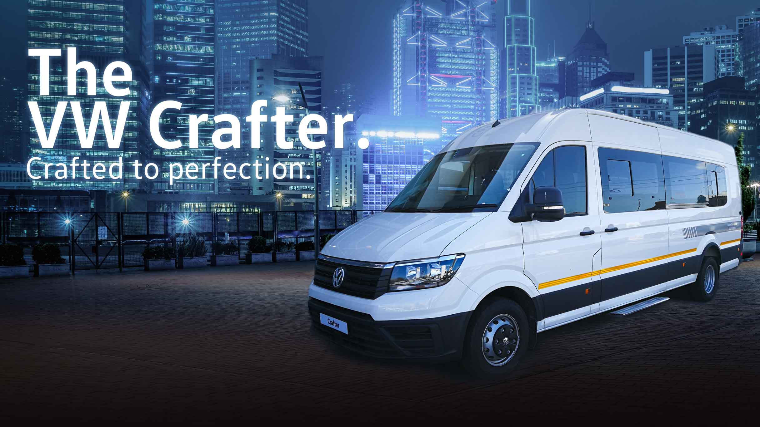 Barons N1 Commercial Crafter special deal banner