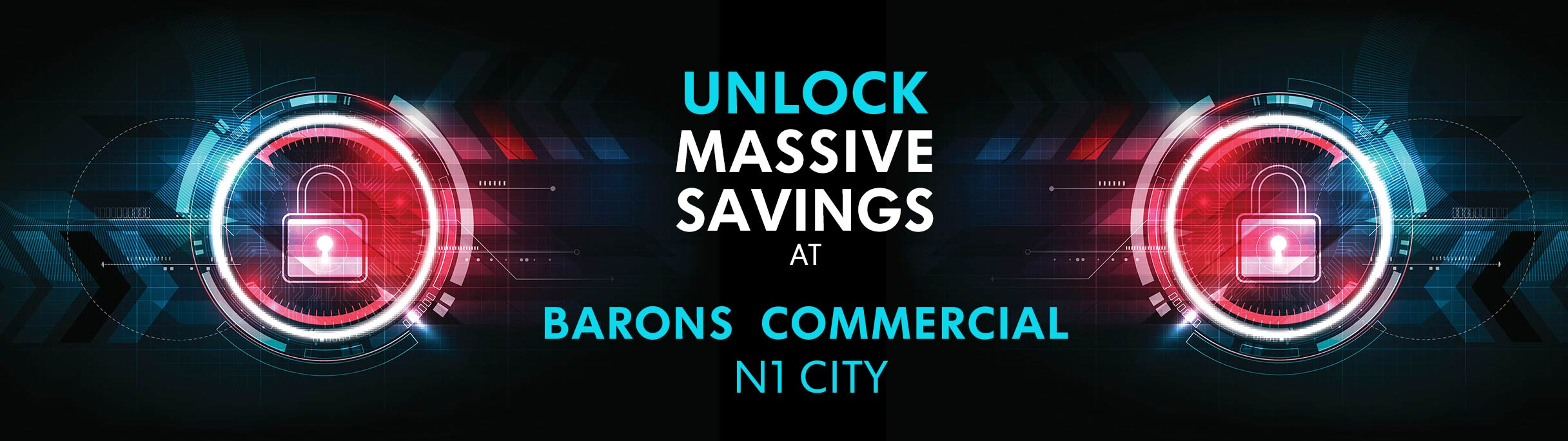 Massive savings at Barons Commercial
