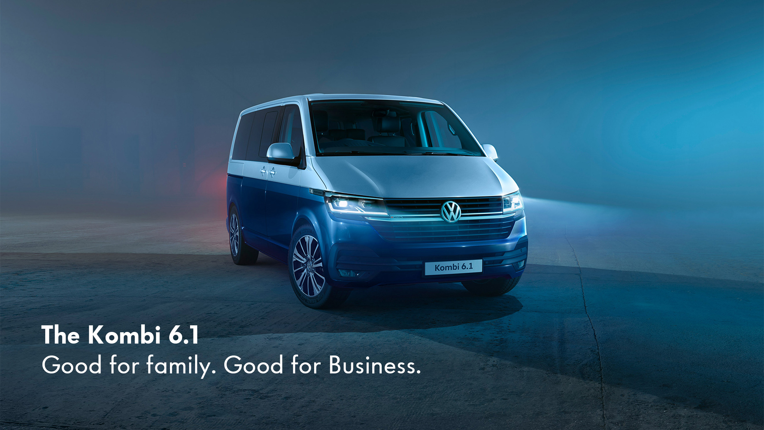 The New VW Kombi at Barons Commercial
